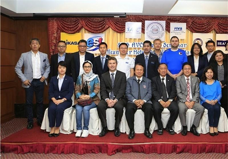 نخستین سمینار مطبوعاتی کنفدراسیون والیبال آسیا برگزار گردید