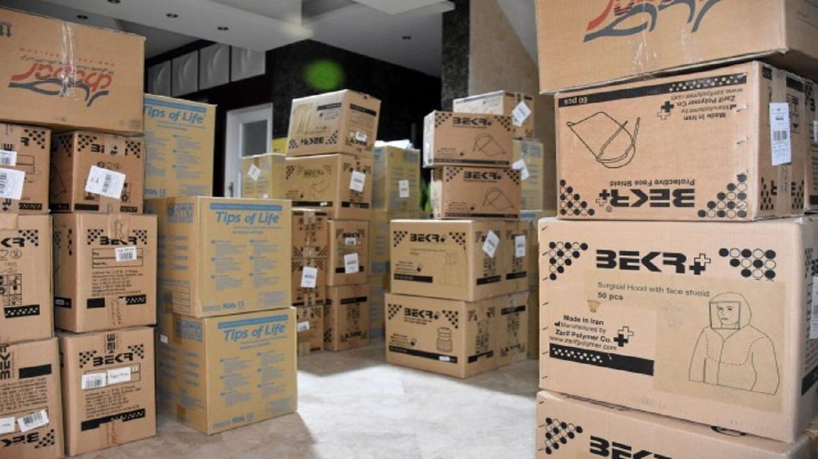 ارسال سومین محموله یاری های اتاق بازرگانی سمنان به شبکه درمان استان
