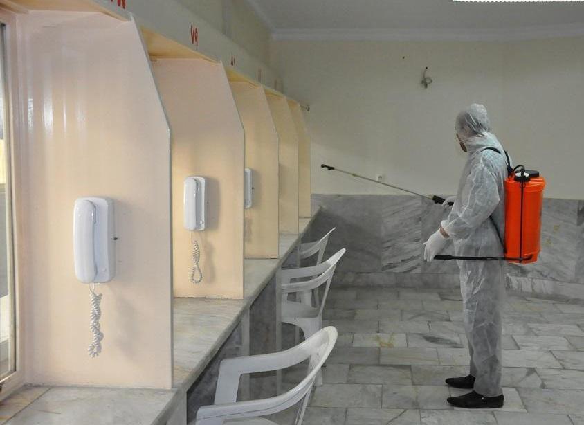 برای اولین بار رزمایش مدافعان سلامت زندان ها در استان تهران برگزار گردید