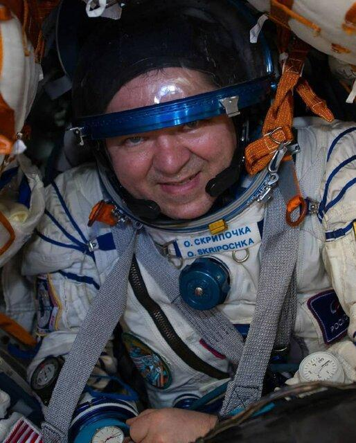 تصاویری جالب از لحظه فرود فضانوردان