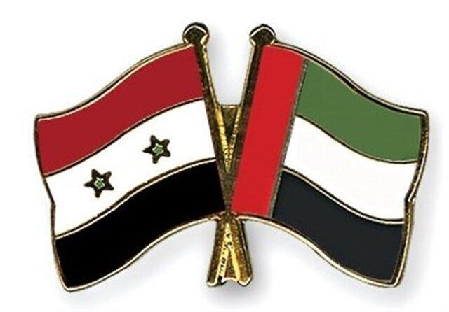 همکاری نزدیک امارات با دولت اسد
